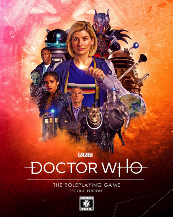 Check Out The Cover of the Upcoming Doctor Who: Second Edition RPG!