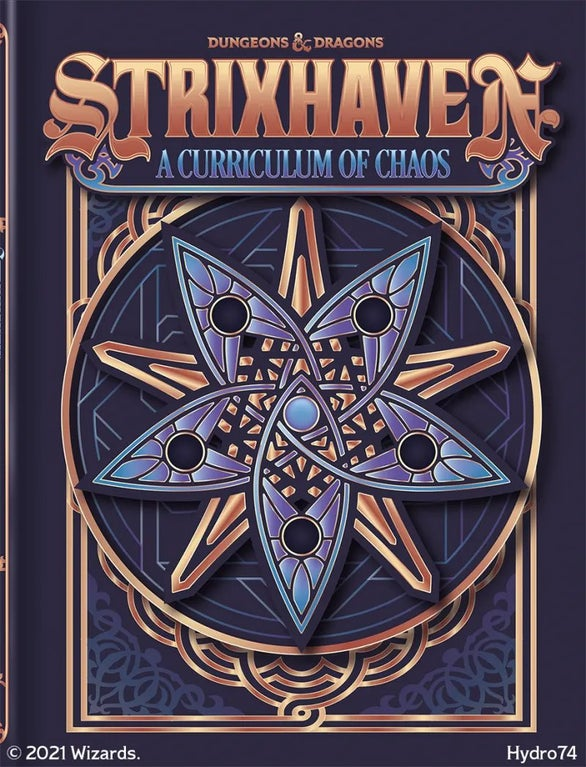 Hydro74 Cover for Strixhaven: A Curriculum of Chaos