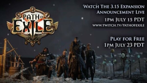 Path of Exile Revealing 3.15 Expansion Today