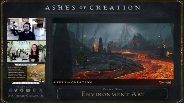 Ashes of Creation Posts August Development Update