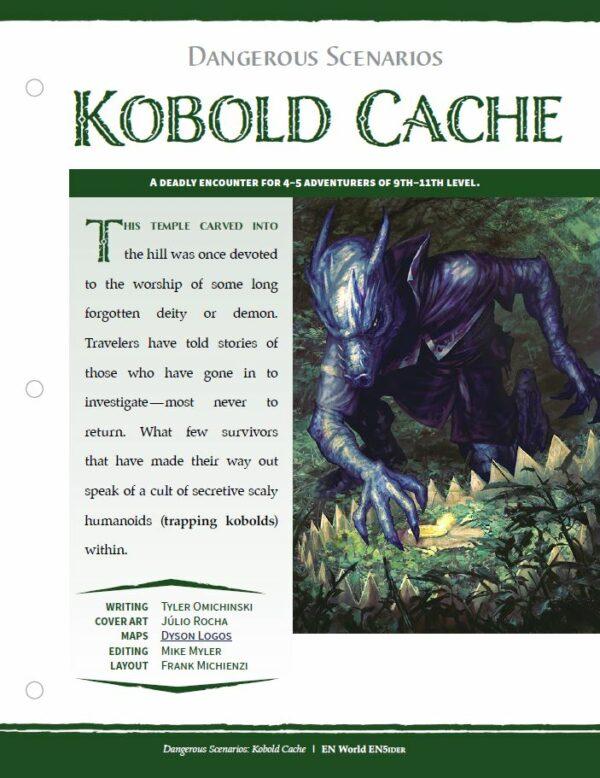 EN5ider #410 – Dangerous Scenarios: Kobold Cache